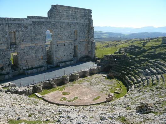 Casa Ronda: Roman theatre of Acipino