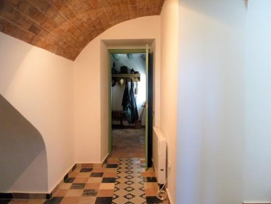 Casa Ronda: hallway of lower floor