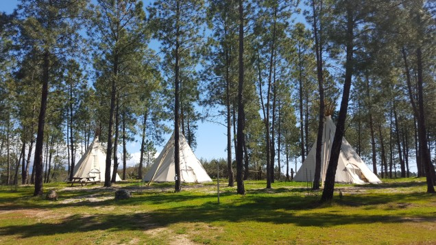Casa Zaragate: Tepees on the property