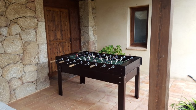Casa Zaragate: table football