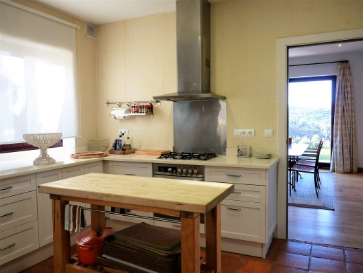 Casa Ruiseñada: kitchen