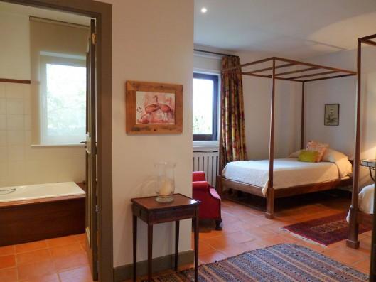 Casa Ruiseñada: double suite ground floor