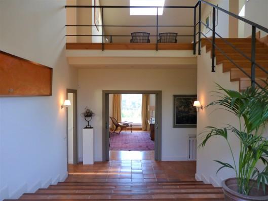 Casa Ruiseñada: entrance hall