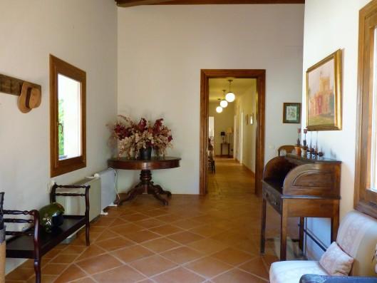 Casa Zaragate: hall y passillo dormitorios