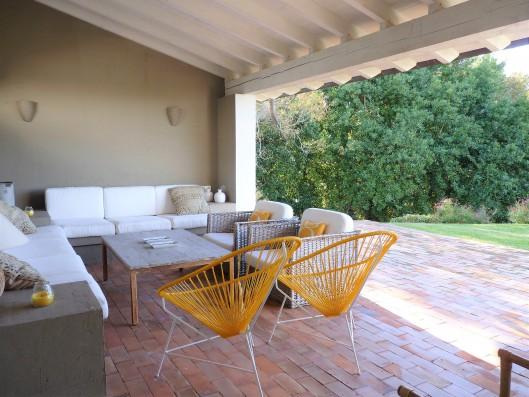 Casa Ruiseñada: covered terrace
