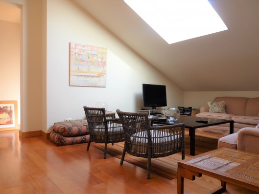 Casa Ruiseñada: family corner first floor