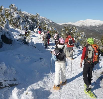 Casa Ortigosa: hikes on snow rackets