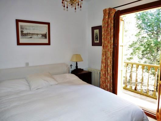Casa Ortigosa: master bedroom, old wing