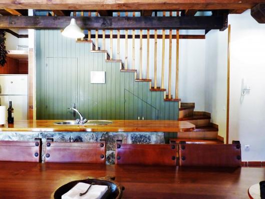 Casa Ortigosa: staircase new wing