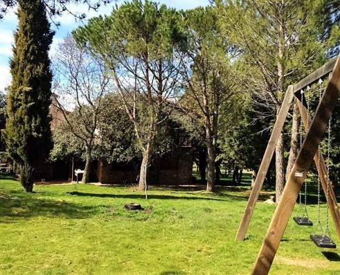 Casa Ortigosa: garden