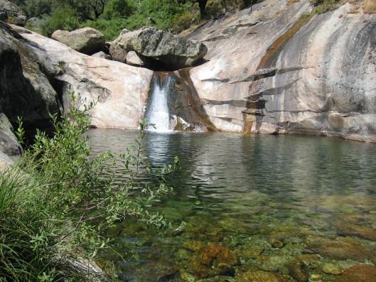 Casa La Vera Gredos: Nearby rock pools