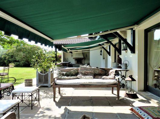 Casa Biarritz: terrace