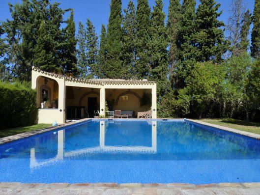 Casa Coria del Rio: private swimming pool of 16x6m.