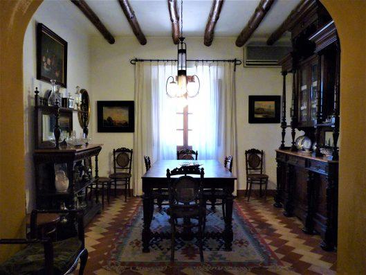 Casa Coria del Rio: dining room
