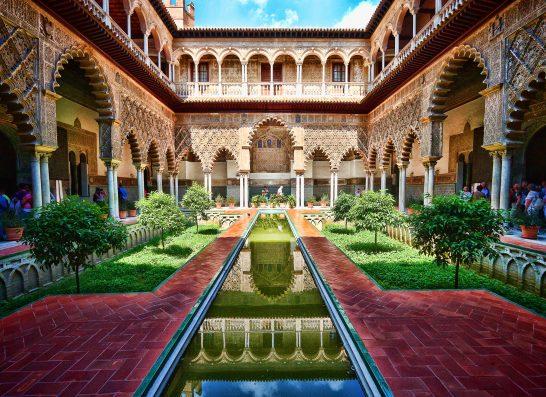Casa Coria del Rio: Alcazar palace in Seville