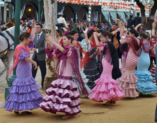 Casa Coria del Rio: April Fair in Seville