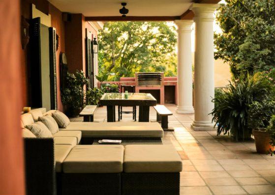 Casa Jimena: porche