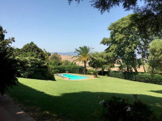 Casa Jimena: piscina y jardín