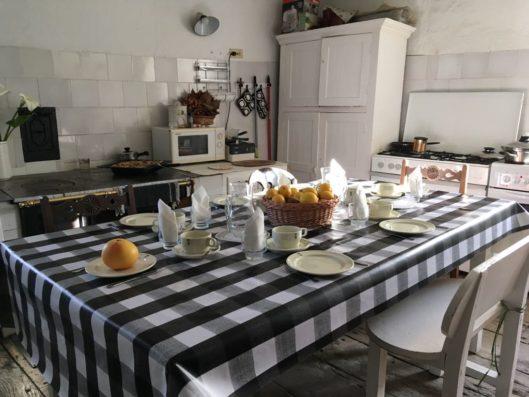 Pazo de Fontao: cocina antigua