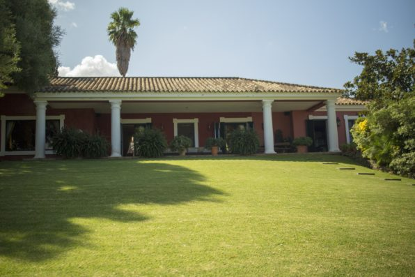 Casa Jimena: house from the swimming pool