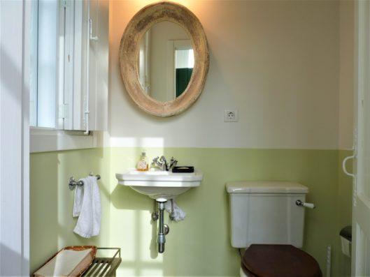 Pazo de Fontao: baño pabellón