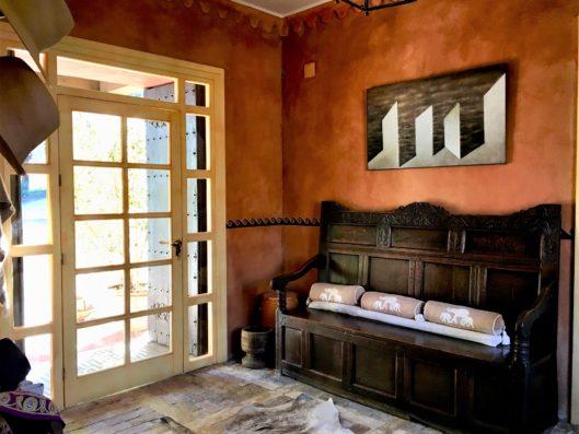 Casa Jimena: entrada
