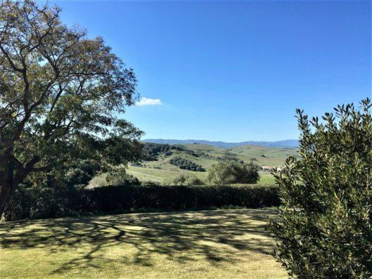 Casa Jimena: jardín y campo