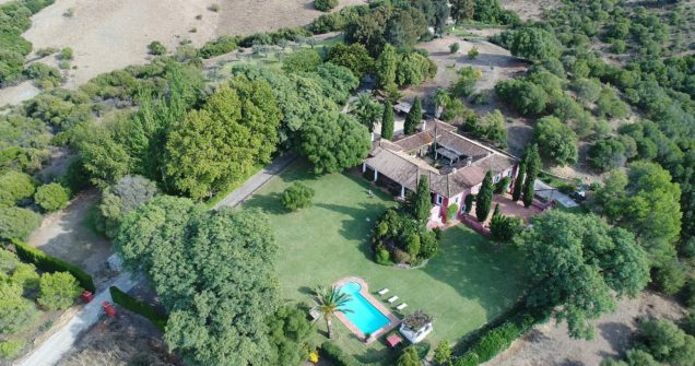 Casa Jimena: luxury holiday villa for events near Sotogrande.