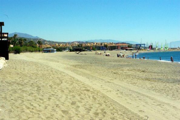Casa Jimena: playa de Sotogrande