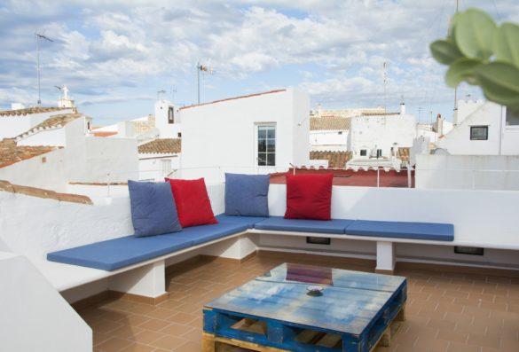 Casa Ciudadela: roof terrace