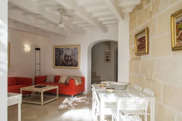 Casa Ciudadela: living room
