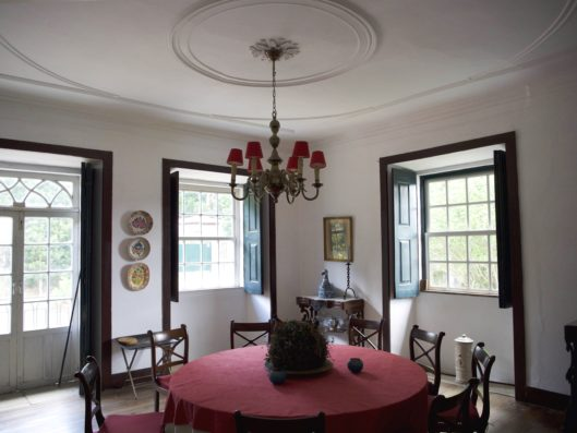 Casa do Retiro: dining room