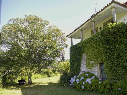 Casa do Retiro: veranda