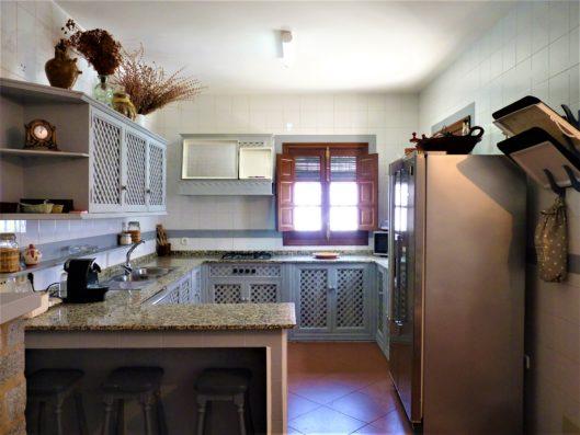 Casa Higuera: cocina