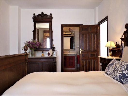 Casa Higuera: dormitorio 4 con baño