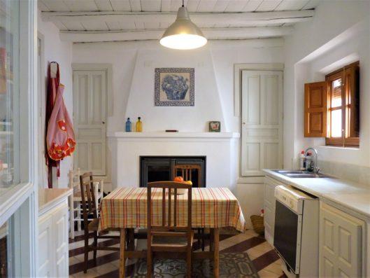 Casa Hinojales: cocina
