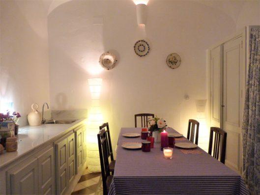 Casa Hinojales: dining room