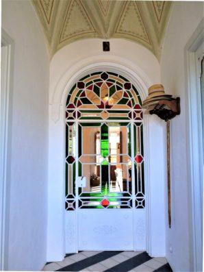 Casa Hinojales: entrada
