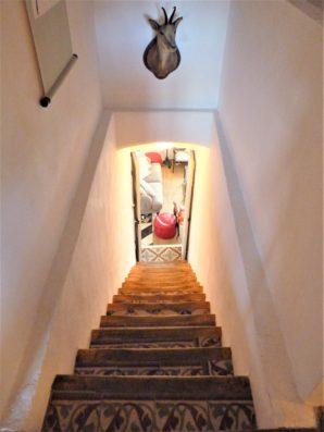 Casa Hinojales: staircase