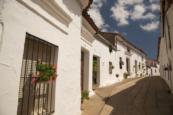 Casa Hinojales: village street