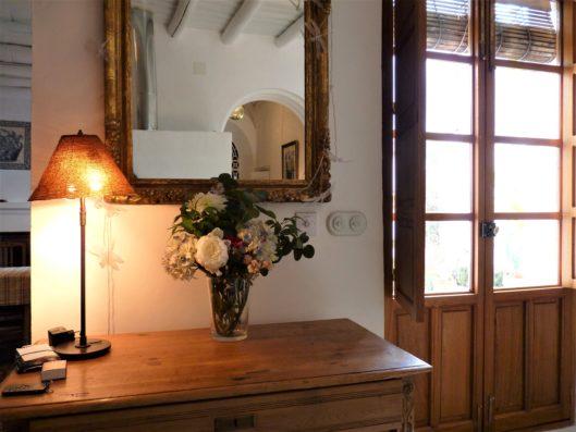 Casa Hinojales: living room detail