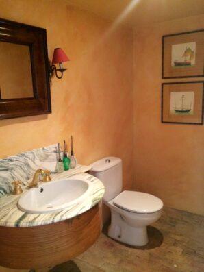 Casa Soto Alto: guest bathroom ground floor