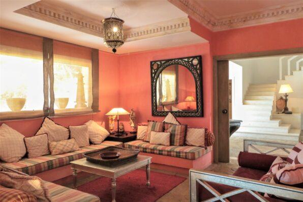 Casa Soto Alto: Moroccan sitting area