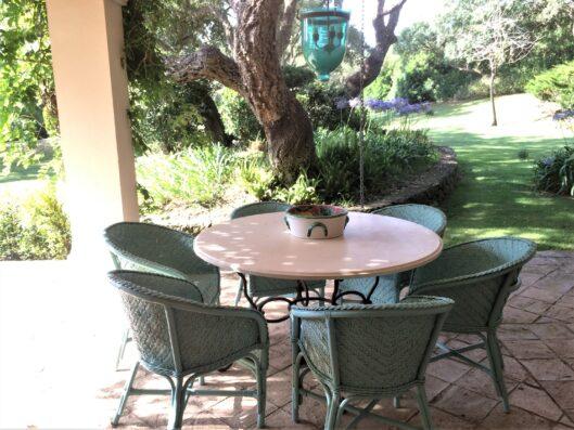 Casa Soto Alto: outdoor dining area