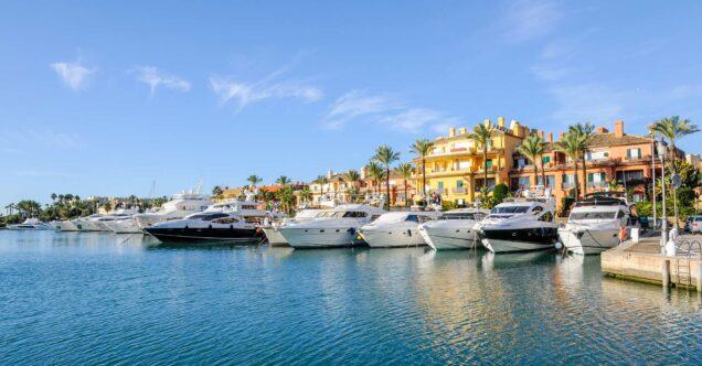 Casa Soto Alto: Sotogrande Marina yacht harbour