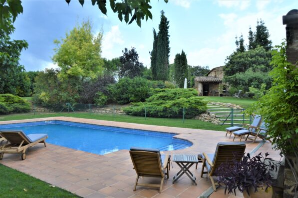Mas Blau: holiday villa in Costa Brava
