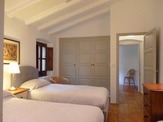 Mas Blau: bedroom 3