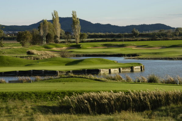 Mas Blau: Gualta golf course