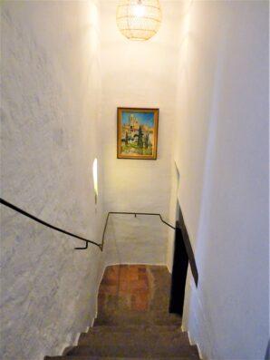 Mas Blau: staircase