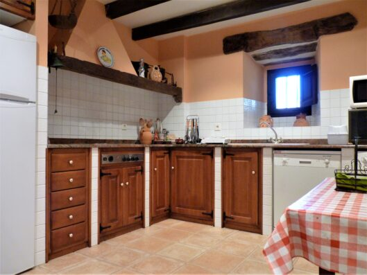 Casa Setien: kitchen